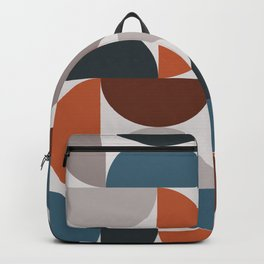 Mid Century Modern Geometric 25 Backpack