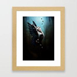 The Butterfly Dancer Framed Art Print