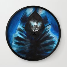 The Hooded One Wall Clock