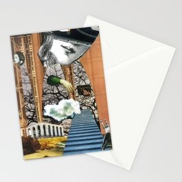 cloud venus - collage Stationery Cards
