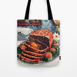Roast with Mushrooms Tote Bag