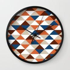 Triangle Pattern #5 Wall Clock