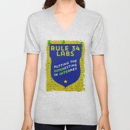 Rule 34 Labs Unisex V-Neck