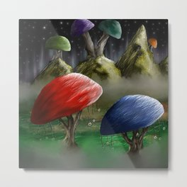 There's Not Mushroom Here Metal Print