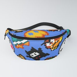 Super Mario World | Enemies Pattern Fanny Pack