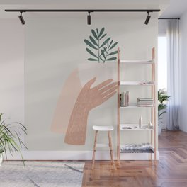give plants, spread love Wall Mural