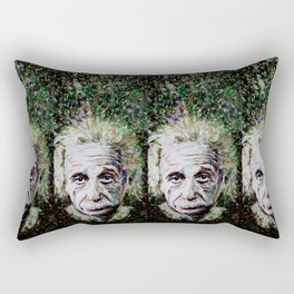 Albert Einstein - brainstorm Rectangular Pillow