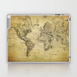 World Map 1814 Laptop & iPad Skin