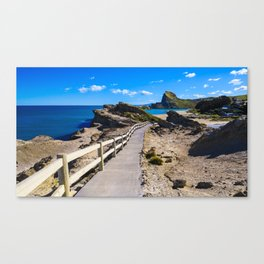 Castlepoint, Wairarapa Canvas Print