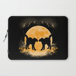 Black Cats Paradise Laptop Sleeve