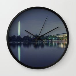 Washington Memorial from the Jefferson Memorial Site Wall Clock