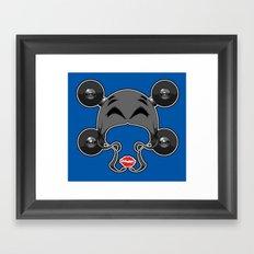 Roller derby xxx Framed Art Print