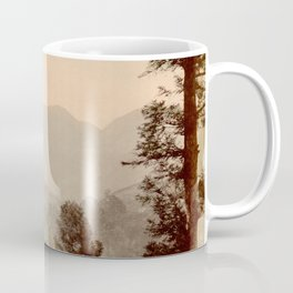 A view of Futagoyama Japan Coffee Mug