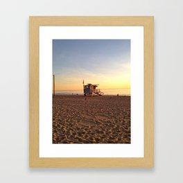 Beach Place Framed Art Print