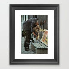 ko Framed Art Print