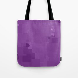 Dewberry Square Pixel Color Accent Tote Bag