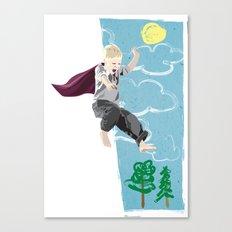 The man who has no imagination has no wings. Canvas Print