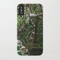 Lime Slim Case iPhone X