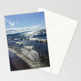 the coast Stationery Cards