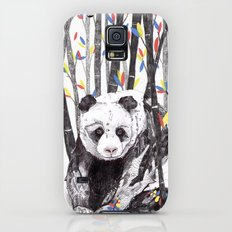 Panda Bear // Endangered Animals Slim Case Galaxy S5