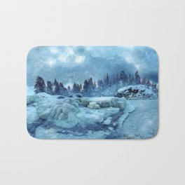 Blue Land Bath Mat