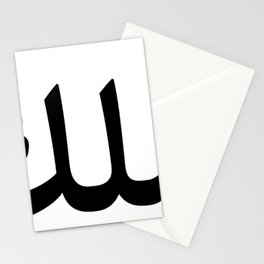 King in Arabic Letters product Halal Arab Malek Malik Melik design Stationery Cards