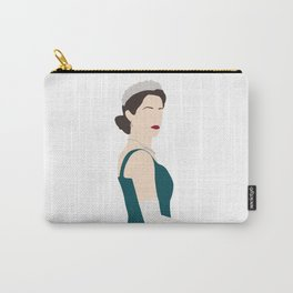The Queen Elizabeth The Crown series Carry-All Pouch