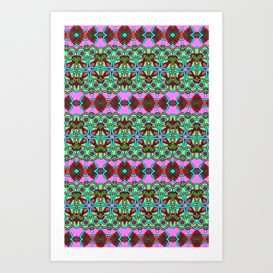 Pretty Pattern Art Print