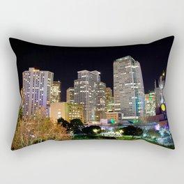 Into The Night Rectangular Pillow