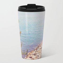 Ocean Beyond the Shore Travel Mug