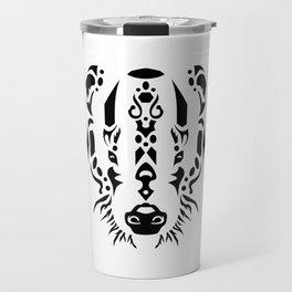 Tribal Badger Travel Mug