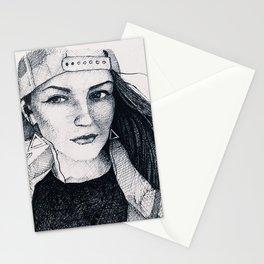 Nati sketch Stationery Cards