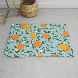 Valencia Oranges Rug