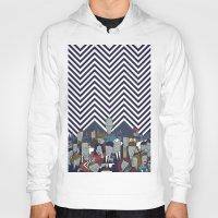 twin peaks Hoodies featuring Twin Peaks by Ale Giorgini
