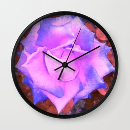 Alien Rose Wall Clock