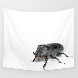 Ruggedly Rugose Stag Beetle Wall Tapestry