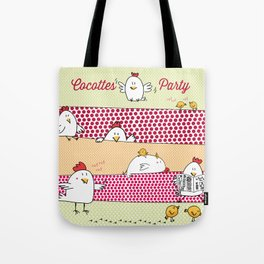 Cocottes Party Tote Bag