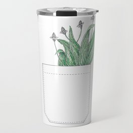 pocket of ribwort Travel Mug