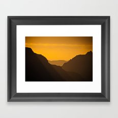 Grand Canyon Mystique Framed Art Print