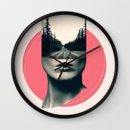 Open Minded 03 Wall Clock