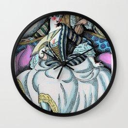 Gerda Wegener - Contes de La Fontaine - Digital Remastered Edition Wall Clock