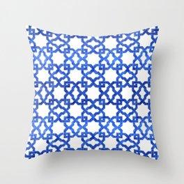 Geometric Pattern - Oriental Design rmx Throw Pillow