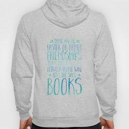 Bookish Friendship - Blue Hoody