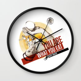 Sakky Snacks Wall Clock