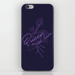 Queer Violets iPhone Skin