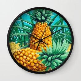Vintage Queensland Pineapple Wall Clock