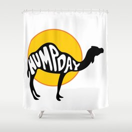 Humpday Shower Curtain