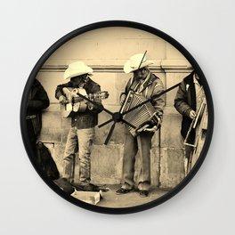 Los Musicos Wall Clock