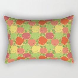 Autumn Apple Bushel Rectangular Pillow