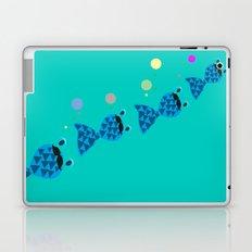 Frank the fish Laptop & iPad Skin